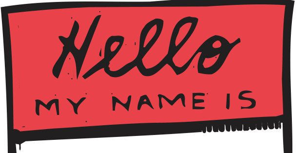 Name tag, 'Hello My Name Is...,', Color