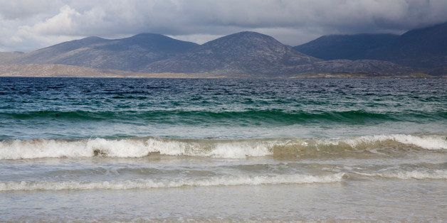Beach and hills, Rosamol, Isle of Harris