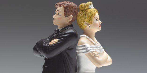 Argument/divorce couple