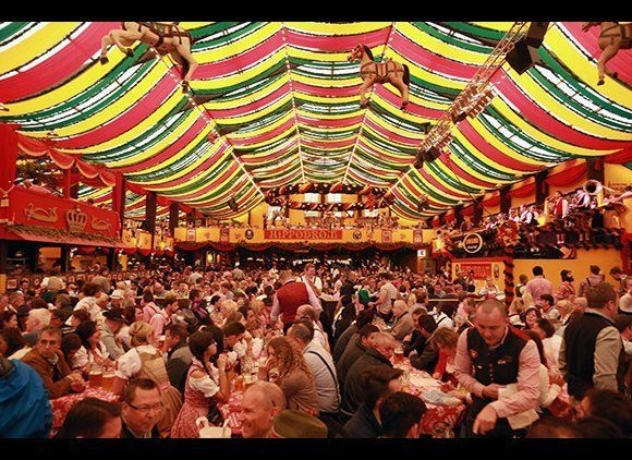 You're not doing fall right if you've never done Oktoberfest. From carnival rides to beer-hall tents to authentic German cuis