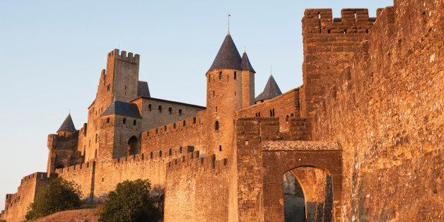 France, View of Carcassonne