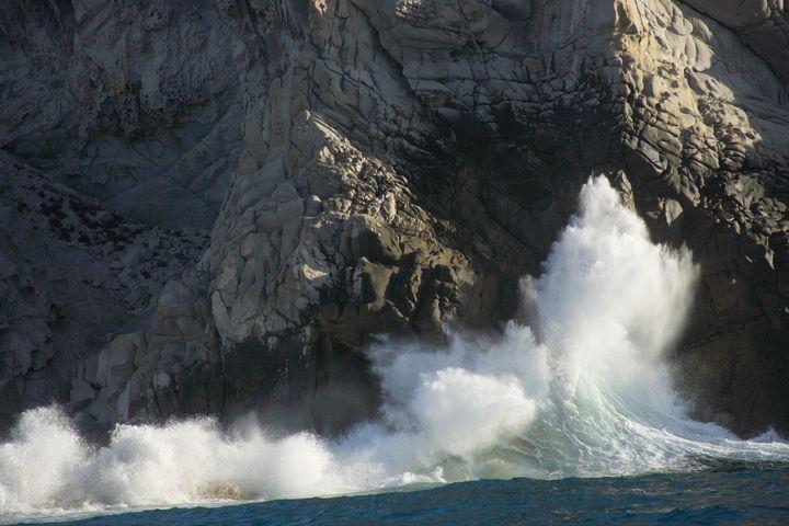 waves in cabo san lucas  baja...
