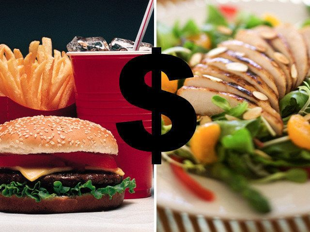 Why Fast Food <em>Isn't</em> Cheaper Than Healthy Food | HuffPost Life