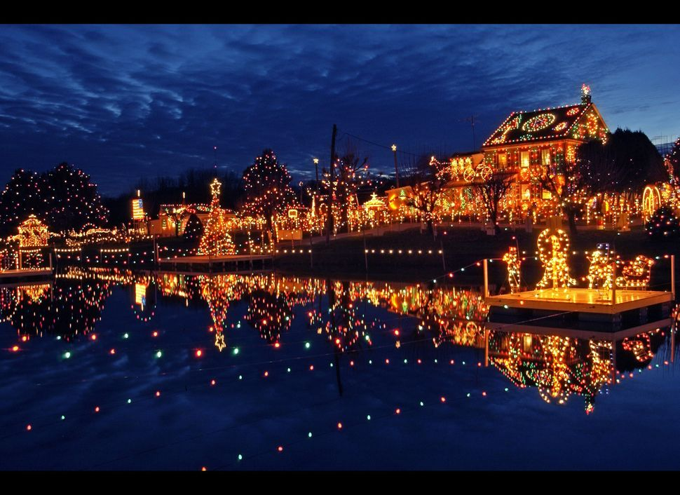 """<strong>Where: </strong>Bernville, Pennsylvania  Imagined as a true one-stop Christmas destination, <a href=""""http://www.kozia"""