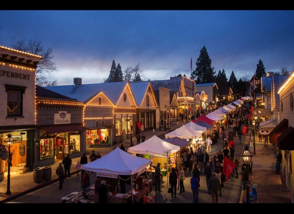 <strong>Where:</strong> Nevada City, California  About an hour northeast of Sacramento, the historic and quaint Nevada City (