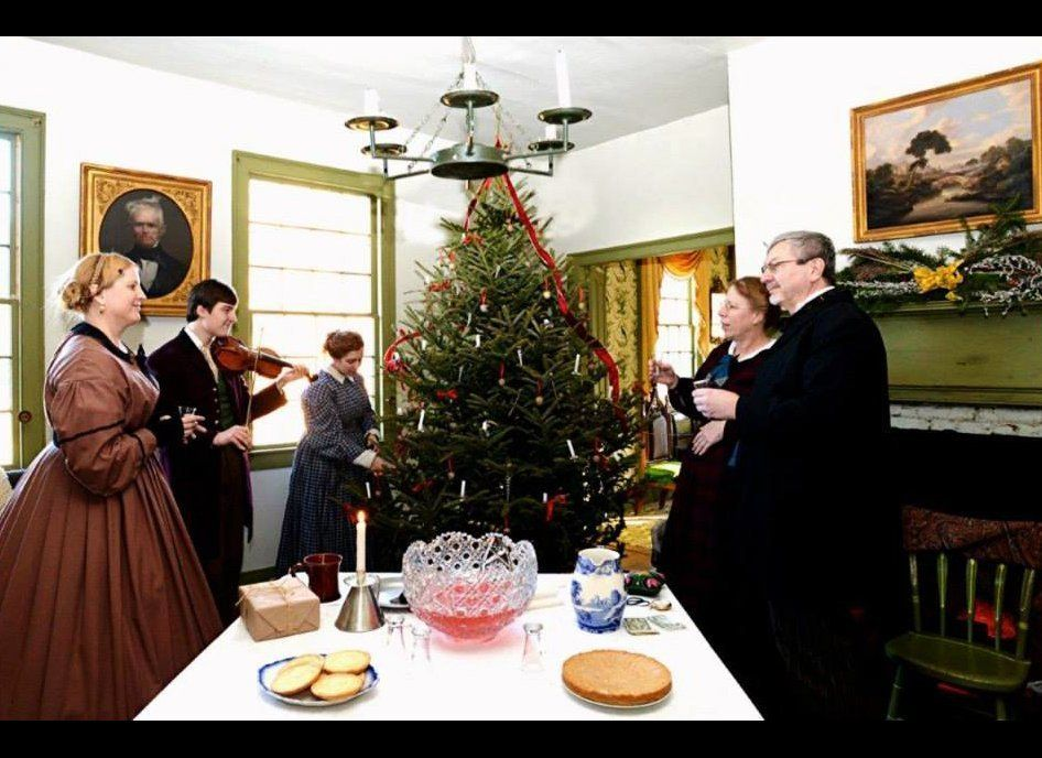 """<strong>Where:</strong> Mumford, New York  The <a href=""""https://www.gcv.org"""">Genesee Country Village</a>brings yuletide"""