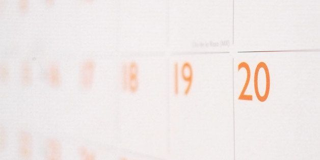 A calender showing a single month