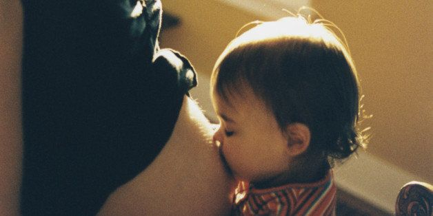 Toddler Kissing Pregnant Belly