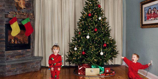 Children's Christmas Portrait