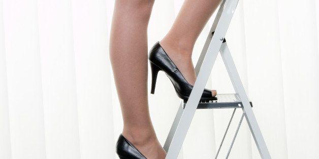 successful woman makes career...