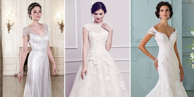 f11451776d22 The 25 Most-Pinned Wedding Dresses Of 2015 | HuffPost Life