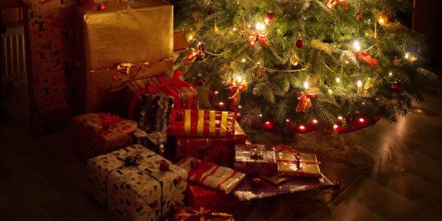Christmas Tree, Presents and Ambient Light