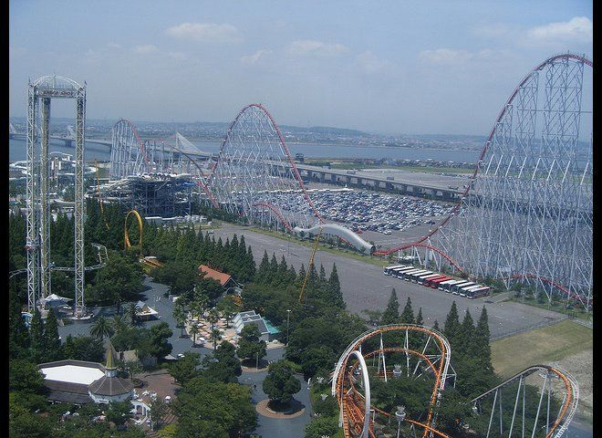 <strong>Where: </strong>Nagashima Spa Land in Mie Prefecture.