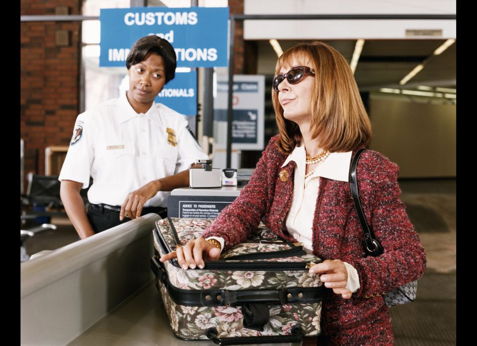 If you're en route home from an international trip, check the rules before you buy anything in the airport. Certain hubs over