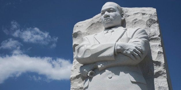 The Martin Luther King Jr. memorial in Washington DC.