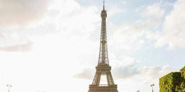 Eiffel Tower at park, Paris, France