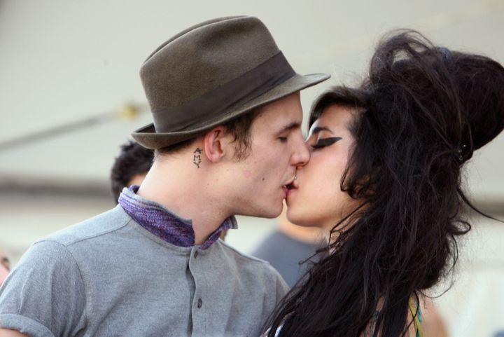 Amy Winehouse Death Blake Fielder Civil Singer Left Out Of Will Huffpost Life