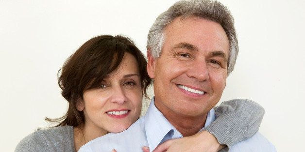 Portrait of a happy baby boomer couple