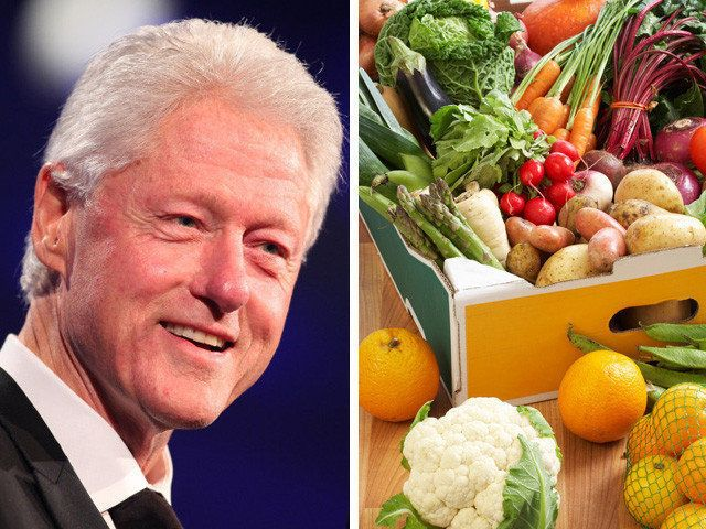 president clintons plant based diet