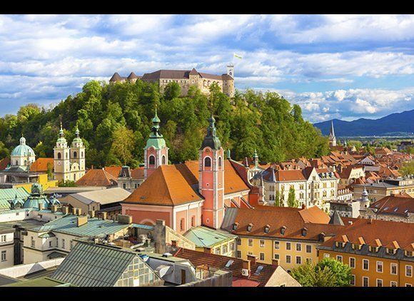 As the European Capital of 2016, Slovenia's capital— crowned elegantly with a castle perched high on a hill—has a