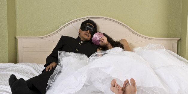A newly wed couple just want to get some rest after the big day City Beautiful II - 2011 Florida