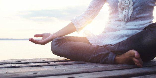 deep meditation open mind