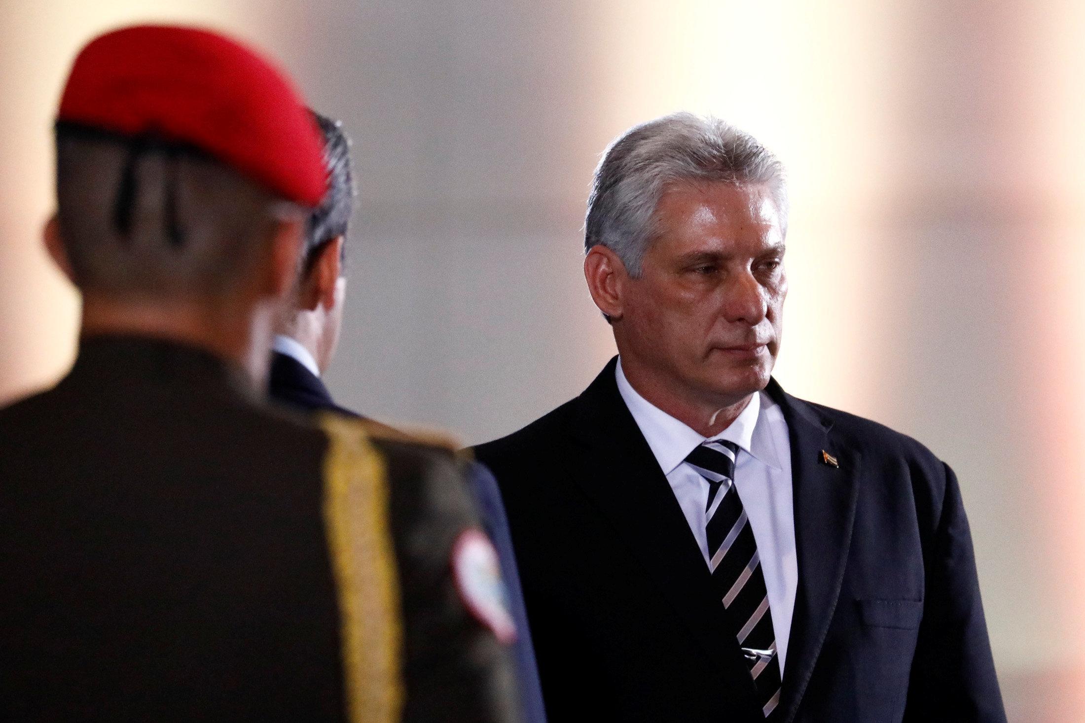 «Οπισθοδρόμηση» των σχέσεων Κούβας- ΗΠΑ βλέπει ο πρόεδρος Μιγκέλ Ντίας-