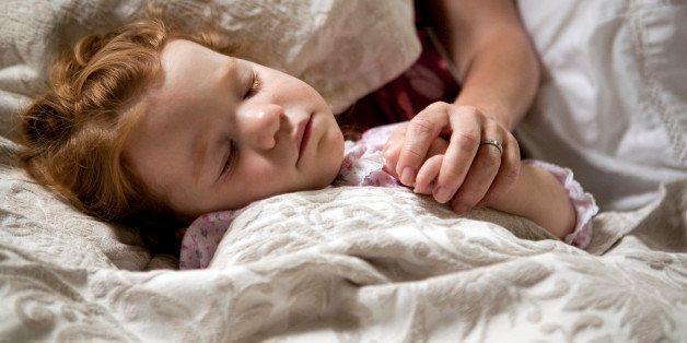 red hair, parenthood, bedtime, rest, growing, family, motherhood