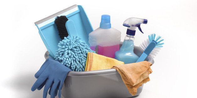Spring cleaning car kit