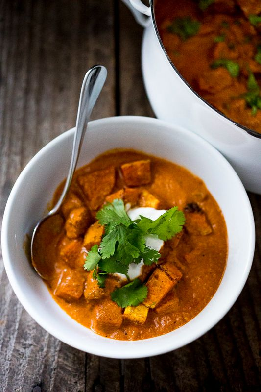Roasted Butternut Tikka Masala from Feasting At Home