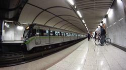 Ζωντανή απεγκλωβίστηκε γυναίκα που έπεσε στις γραμμές το μετρό στον σταθμό Συγγρού-