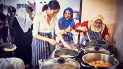 Meghan Markle Pictured Cooking With Women Affected By Grenfell Tower Fire As Cookbook Is