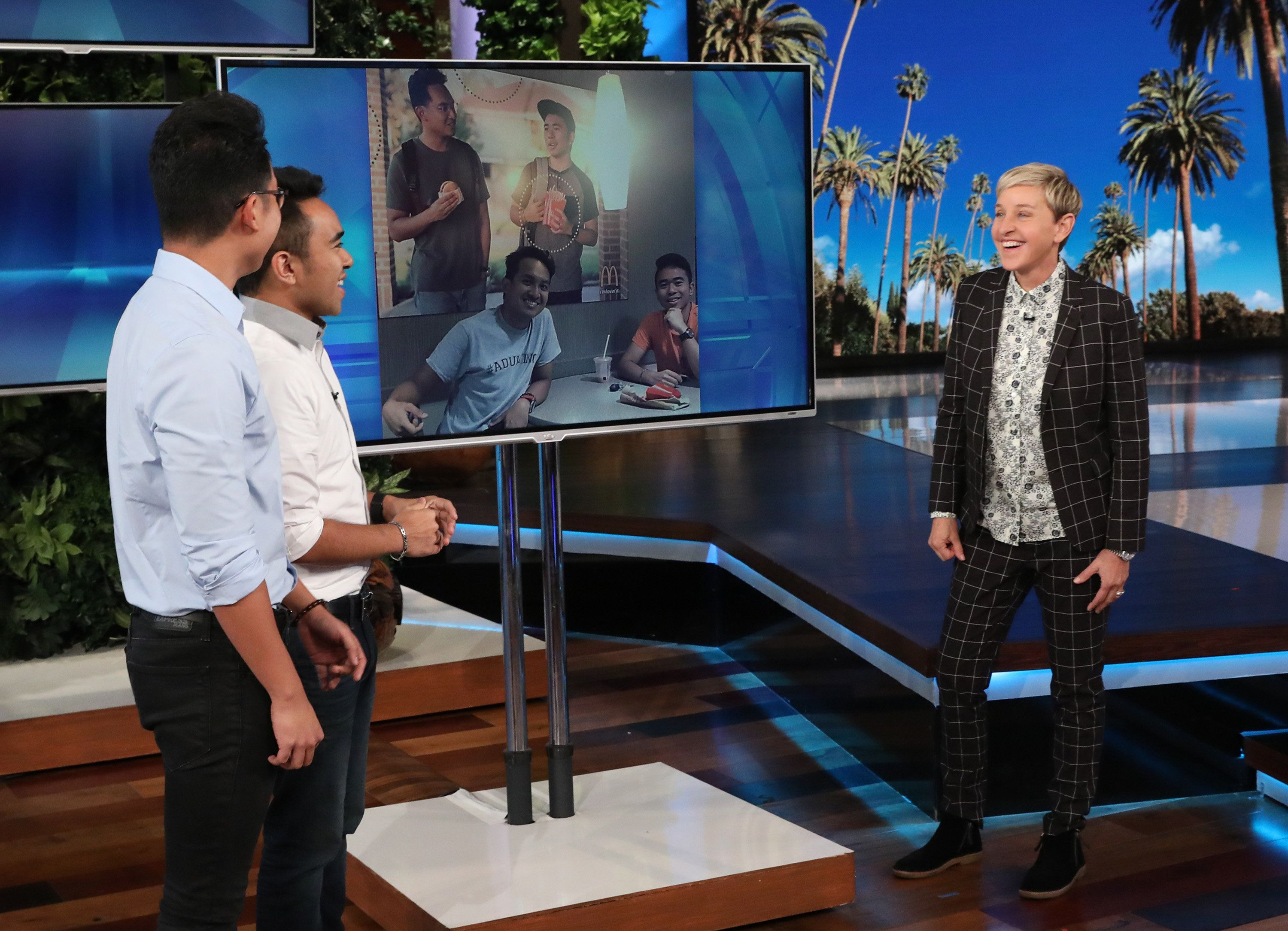 Ellen DeGeneres Surprises McDonald's Pranksters Pushing For Asian