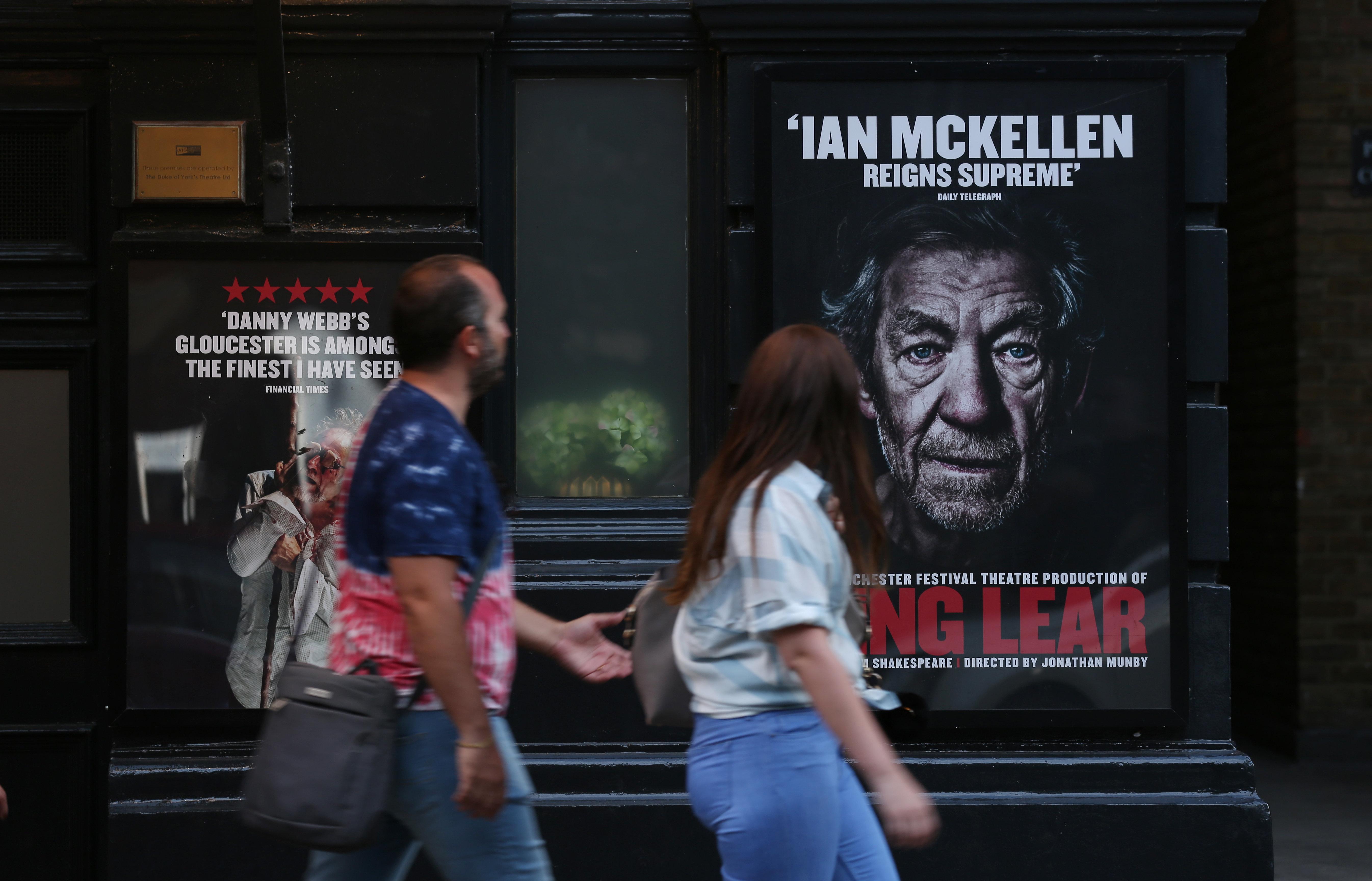 Θέατρο στο Μέγαρο: Ο σταρ Ιαν ΜακΚέλεν στον σαιξπηρικό «Βασιλιά