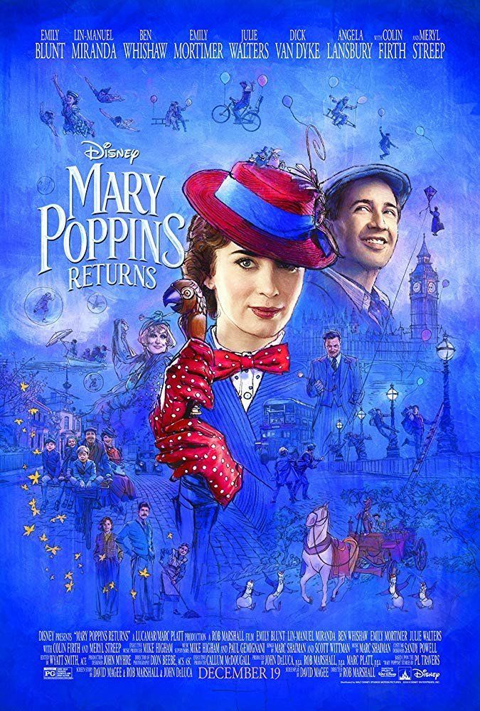 Κυκλοφόρησε το επίσημο τρέιλερ της νέας ταινίας της Μέρι Πόπινς με πρωταγωνίστρια την Έμιλι