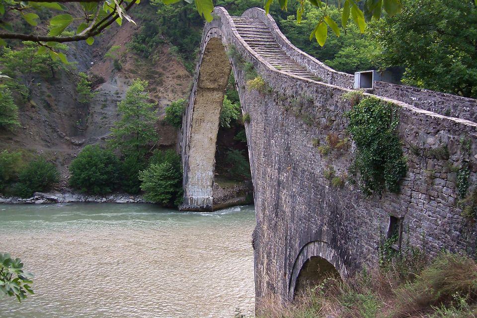 Γέφυρα Πλάκας, ανατολικό...