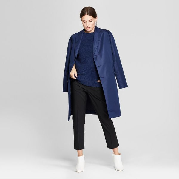 "<strong>Sizes</strong>: XS to XXL<br>Get it at <a href=""https://www.target.com/p/women-s-long-sleeve-trench-coat-prologue-153"