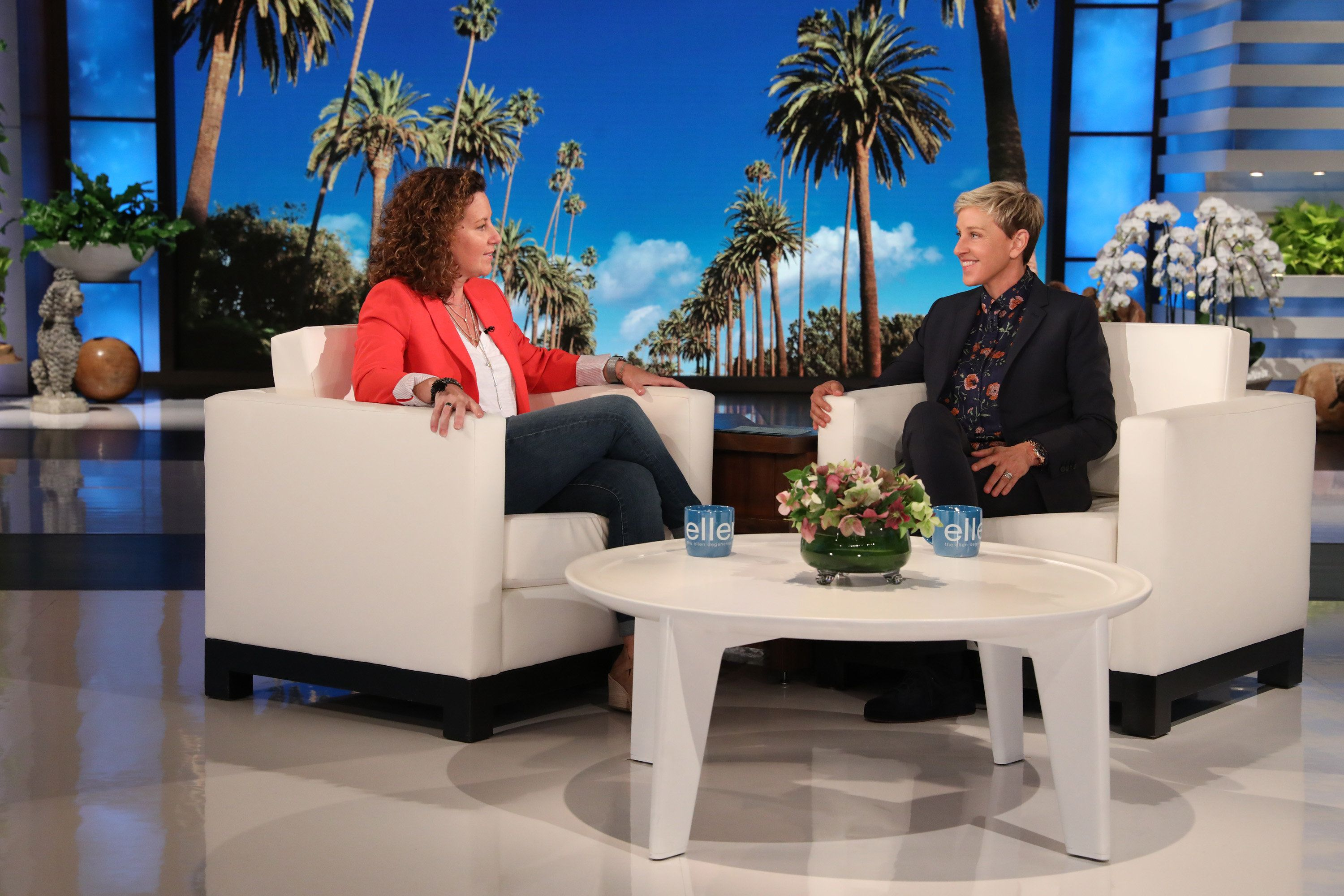 Ellen DeGeneres Meets School Counselor Who May Be Fired For Her Same-Sex