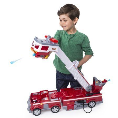 "Get it at <a href=""https://www.walmart.com/ip/PAW-Patrol-Ultimate-Rescue-Fire-Truck-with-Extendable-2-ft-Tall-Ladder-for-Ages"