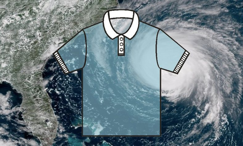 Blowing In With Hurricane Florence: The Rugged Anchor In A Polo