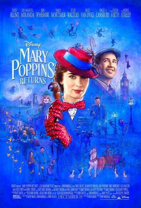 """Disney dévoile la bande-annonce magique du """"Retour de Mary"""