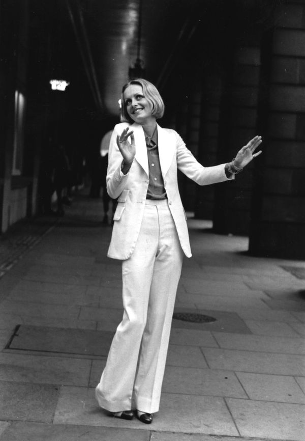 """This outfit was featured in the Ken Russell film """"The Boy Friend,"""" which starred Twiggy."""