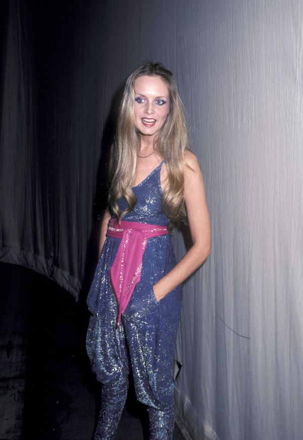 Twiggy attends A Gift of Music Concert Benefit at Metromedia Square in Los Angeles.