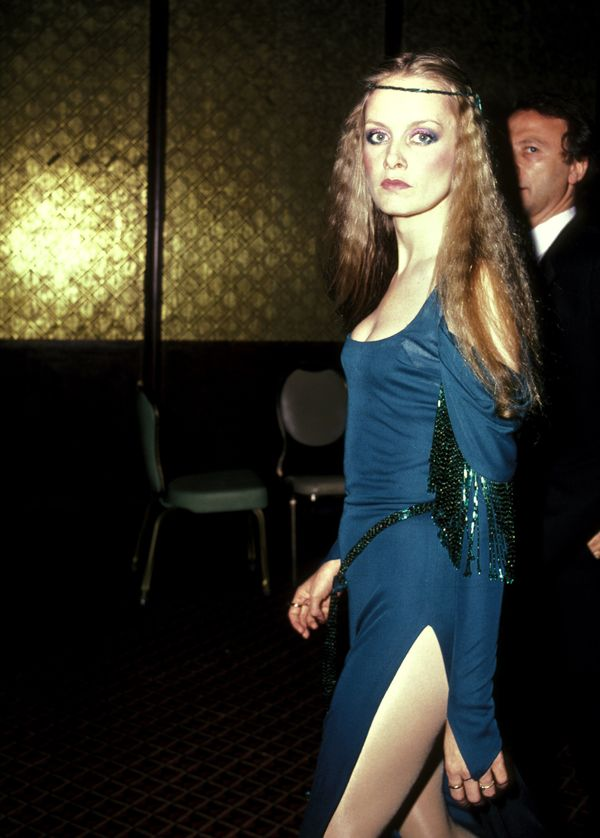 Twiggy at the Gershwin Theater in New York City.