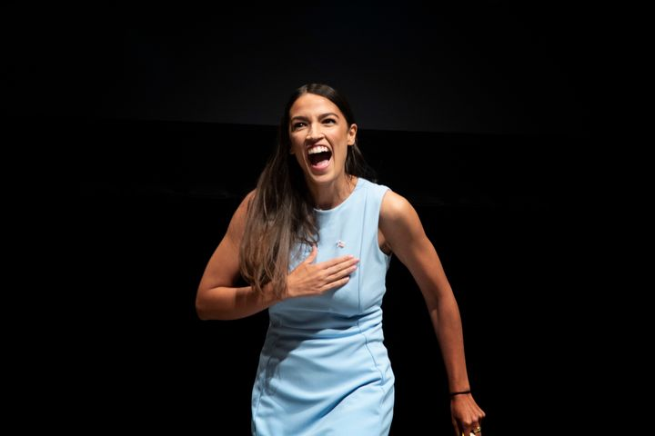 Democratic progressive Alexandria Ocasio-Cortez of New York is the favorite in her race in November. At 28, she could become