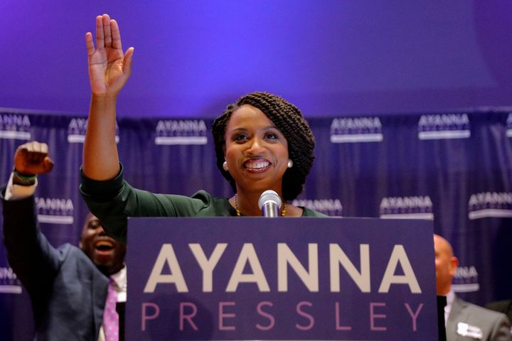 Democrat Ayanna Pressley is all but guaranteed to be the first black woman from Massachusetts to be elected to the House