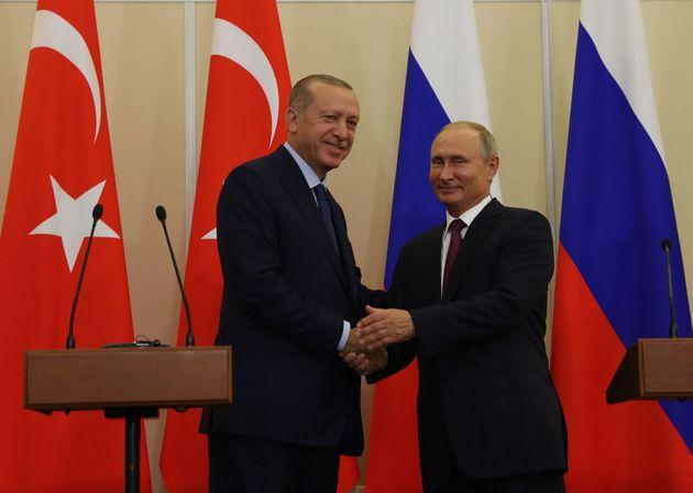 Πούτιν και Ερντογάν συμφώνησαν στη δημιουργία αποστρατικοποιημένης ζώνης στην