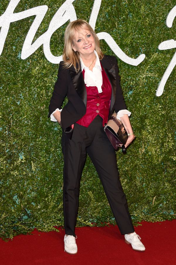 Twiggy attends the British Fashion Awards at the London Coliseum.