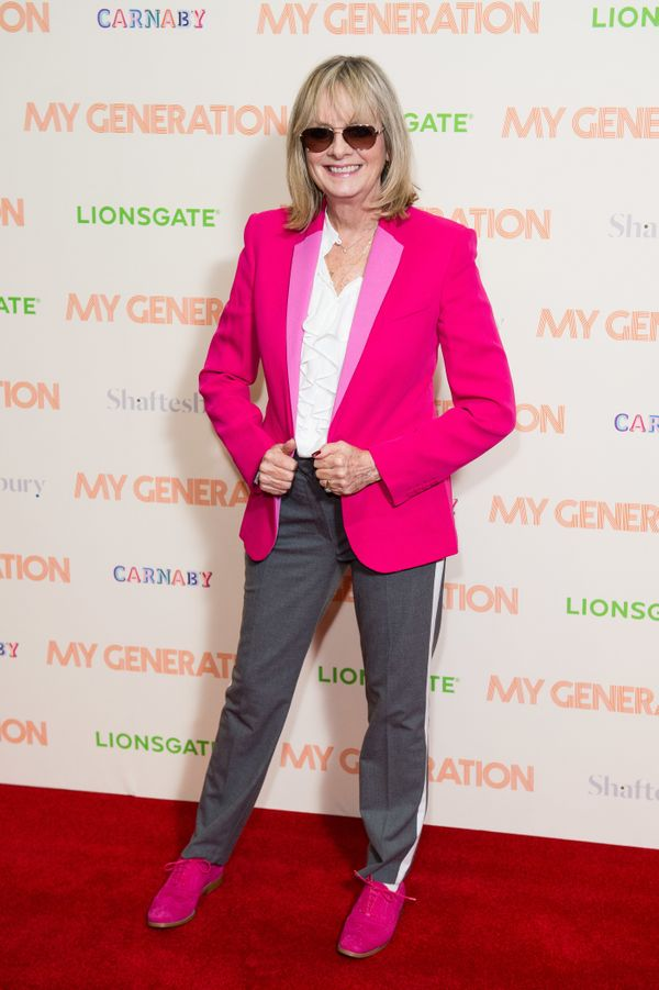"""Twiggy attends a special screening of """"My Generation"""" at BFI Southbank in London."""