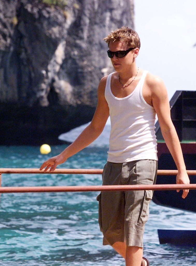 Leonardo DiCaprio's favorite shorts style hasn't changed much in two